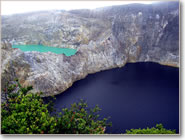 Three Color Lakes of Kelimutu