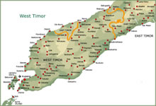Map of Timor (West)