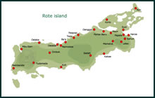 Map of Rote island