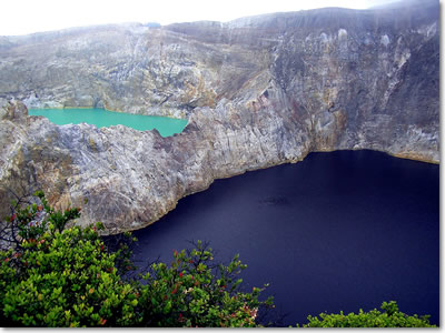 Mount Kelimutu Flores - Three Color Lakes